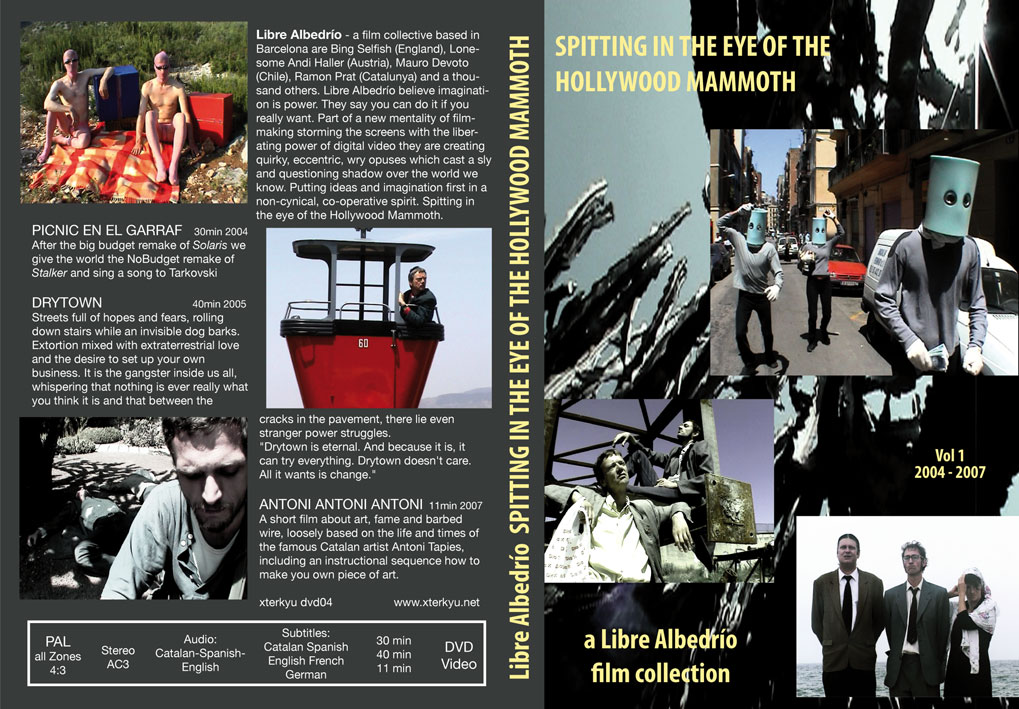spitting in the eye of the hollywood mammoth dvd cover